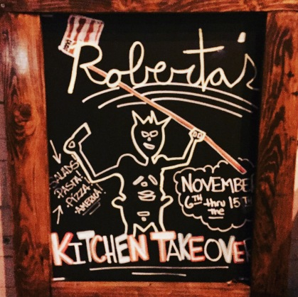 Roberta's Kitchen Takeover